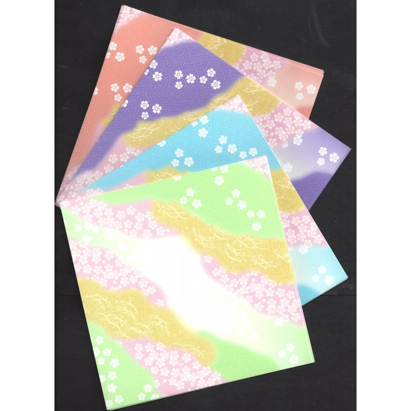 origami paper chiyogami print 150 mm 48 sheets bulk