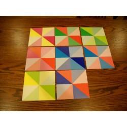 150 mm_  48 sh - Prism Origami Paper