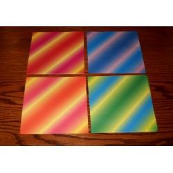 150 mm_  55 sh - Bokashi Diagonal Origami Paper