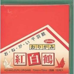 070 mm_ 150 sh - Kohakuzuru Origami Folding Paper