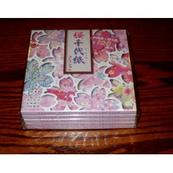 Origami Paper Cherry Blossom Collection - 150 mm - 100 sheets  - Bulk
