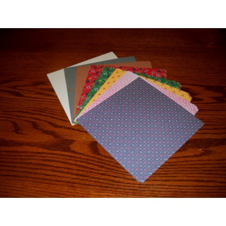 Origami Paper Mixed Types Washi - 175 mm - 70 sheets