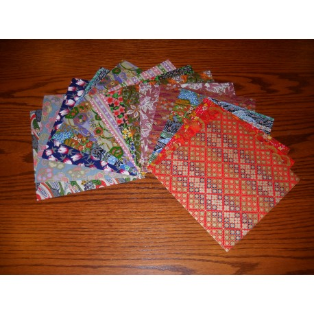 Origami Paper Mixed Prints of Washi - 180 mm - 15 sheets