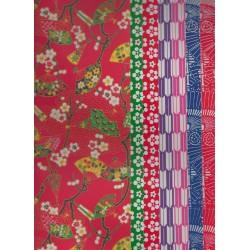 220 mm_  20 sh - Mix Print Washi Paper