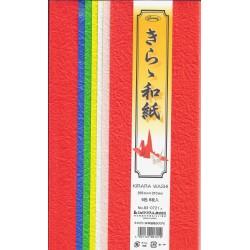 255 mm_   6 sh - Kirara Washi Paper