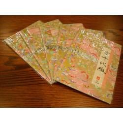 257 mm_   4 sh - Embossed Washi Paper - Bulk
