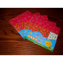 100 mm_  20 sh - Mix Print Origami Paper - Bulk