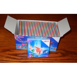 Origami Paper Double Sided Harmony Print - 075 mm - 100 sheets - Bulk