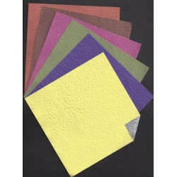 Origami Paper Double-sided Momigami Washi - 150 mm - 6 sheets