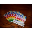 Origami Paper 50 Colors - 150 mm -  60 sheets - Bulk