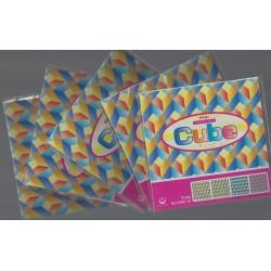150 mm/  36 sh - Cube Pattern Origami Paper - Bulk