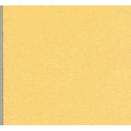 150 mm_  12 sh - Pale Yellow Pearlized Momigami Paper