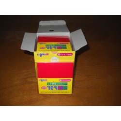 075 mm_  80 sh - Red Color Origami Folding Paper - Bulk