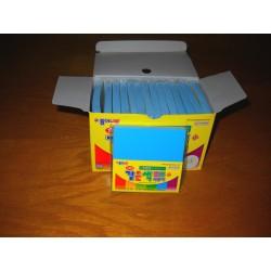 075 mm_ 100 sh - Blue Color Origami Paper - Bulk