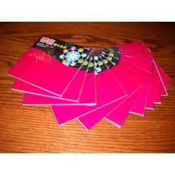 150 mm_  12 sh - Glossy Slick Origami Paper - Bulk