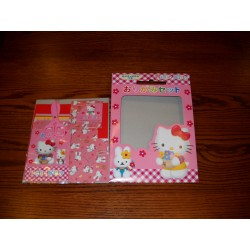 Origami Paper Hello Kitty  Set - 075 mm - 35 sheets