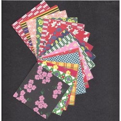 Origami Paper EDO Chiyogami Print- 075 m - 60 sheets