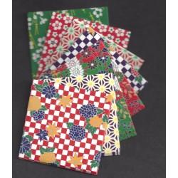 Origami Paper Mixed Pattern Washi - 075 mm - 72 sheets