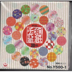 075 mm_ 300 sh - Mixed Print Washi Paper