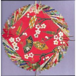 080 mm_   20 sh - Yuzen Washi Origami Paper