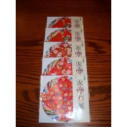 Origami Paper Yuzen Washi - 20 Prints - 080 mm - 30 sheets -  Bulk
