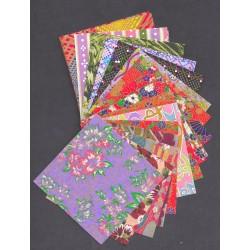 090 mm_  25 sh - Classic Print Washi Paper