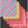 Origami Paper Washi Mixed Prints - 110 mm -  24 sheets