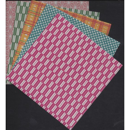 118 mm_  20 sh - Chiyogami Paper