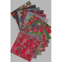 Origami Paper Classic Washi Prints - 120 mm -  15 sheets - Bulk