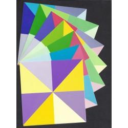 120 mm_  28 sh - Prism Origami Paper