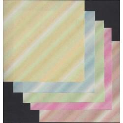 150 mm_   5 sh - Hibiki Yuzen Chiyogami Paper
