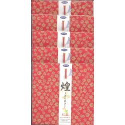 150 mm_   8 sh - Washi Paper With Gold Leaf Print - Kirameki - Bulk Buy