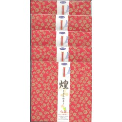 Origami Paper With Gold Leaf Print On Washi -150 mm- 8 shts - Bulk Buy