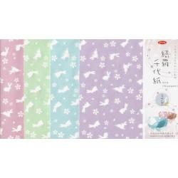 150 mm_  12 sh - Kira Washi Paper