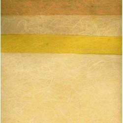 320 mm_   4 sh - Awagami Yellow Handmade Ogura Washi