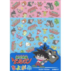Origami Paper Anime Character - 150 mm - 20 sheets