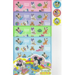 150 mm_  20 sh - Disney Babies Origami Paper With Stickers