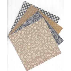 150 mm/  16 sh - Fabric Paper