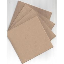 150 mm/  40 sh - Designed Origami Kraft Paper