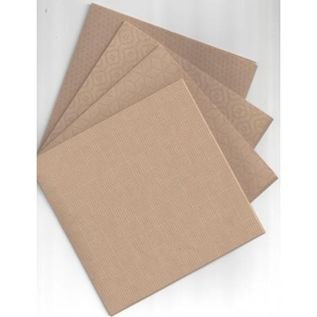 Kraft Paper  Designed Print - 150 mm - 40 sheets