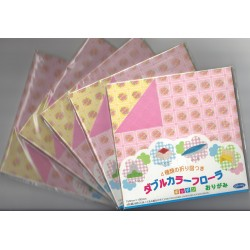 150 mm_  28 sh - Orizutsuki Double Color Flora Kitchen Origami