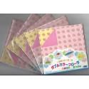 Origami Paper Orizutsuki Double Color Flora Kitchen - 150 mm - 28 sheets -Bulk