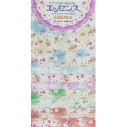 Origami Paper Twin Double Sided Chiyogami Essence - 150 mm - 32 sheets