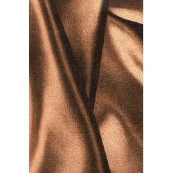 Gold Brown Swirl Print American Foil Paper - 600 mm
