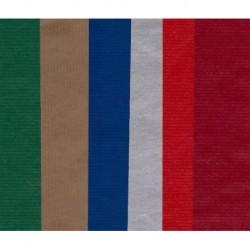 300 mm_   6 sh - Kartos European Kraft Mixed Colors Paper