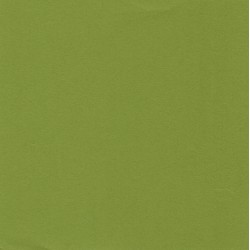 150 mm/  15 sh - Plain Washi Paper - Medium Green