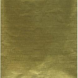 260 mm/  9 sh - Gold Foil Paper With Design