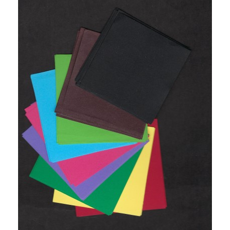 Kraft Paper Double Sided Mixed Colors - 060 mm - 53 sheets