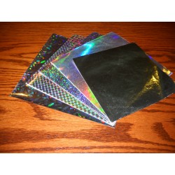 150 mm/  18 sh - Mixed Holographic Foils