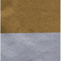 055 mm_   60 sh - Kraft Paper Double Sided Gold Silver